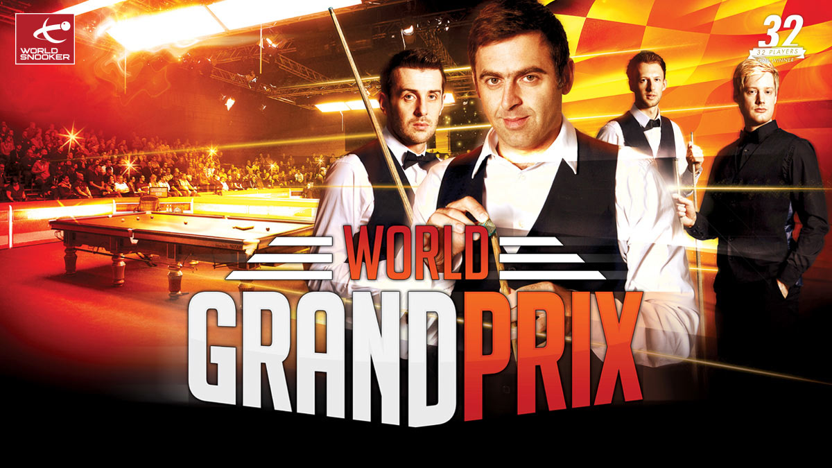 World Grand Prix 2015 artwork, designed by Alias for World Snooker