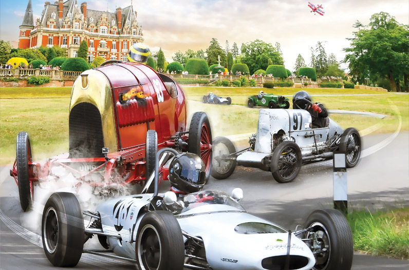 Chateau Impney Hill Climb branding, web design, PR and social media by Cheltenham marketing agency Alias