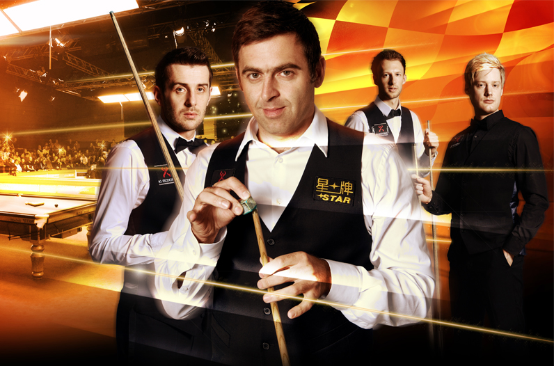 World Snooker graphics by Cheltenham design agency Alias