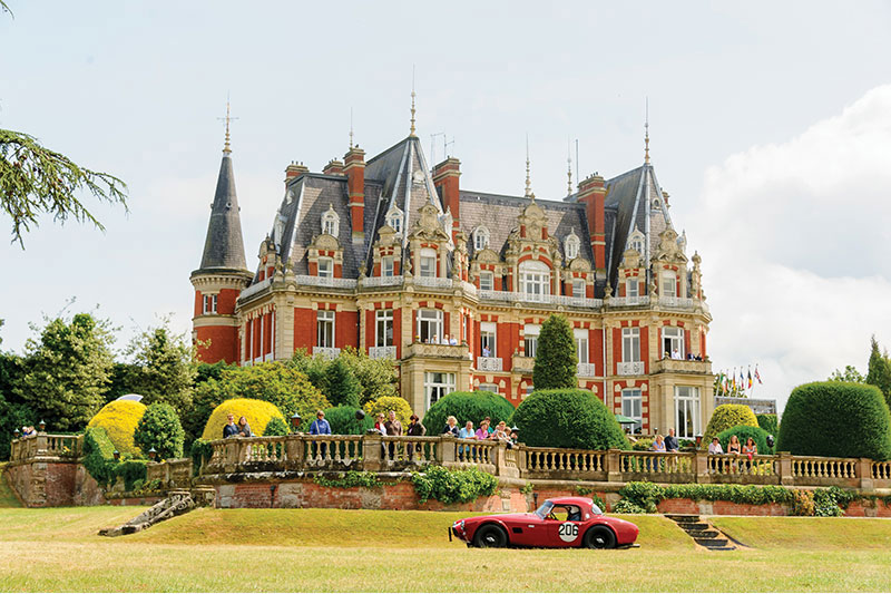 PR and marketing by Cheltenham PR agency Alias: Chateau Impney Hill Climb